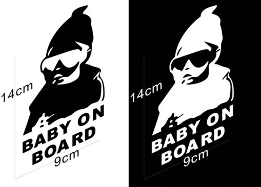 1Pcs-14CM-Car-Waring-Sticker-Lovely-Baby-On-Board